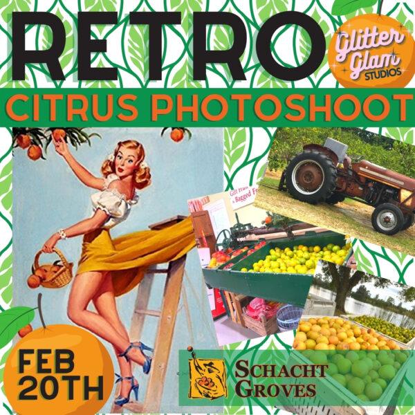 Retro Citrus Photoshoot