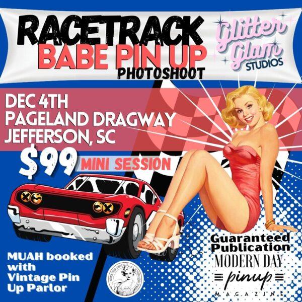 pageland dragway pin up shoot