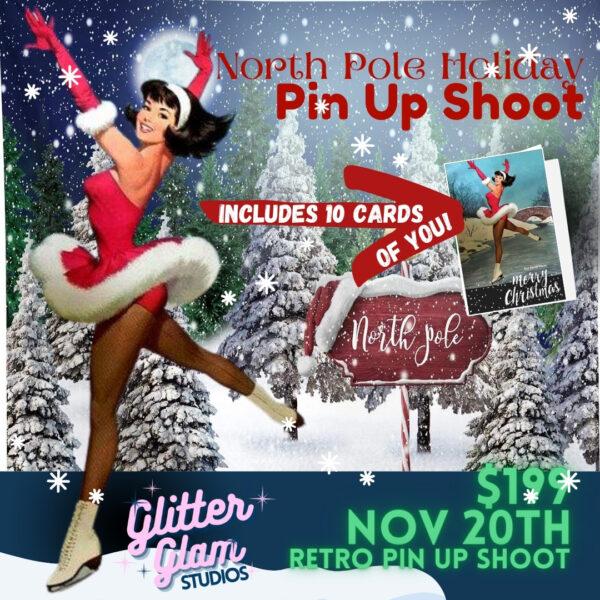 North Pole Pin Up Shoot